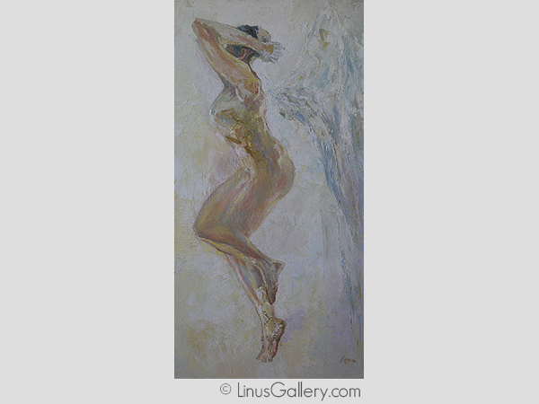 nude art galleries los angeles Undressed Artist Virga Siauciunaite | Angel