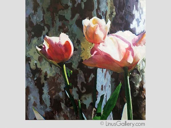 nature art galleries los angeles 600x450 Botanicals 2015 Artist Cindy Avroch | Tulip Trio