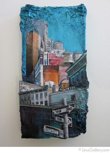 urban call for artists blaine Urban Artist Katie Blaine   The Corner of One Way and Whitehall